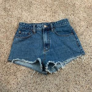 Urban outfitters super high rise shorts